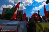 Marche de la journée mondiale de Qods
