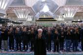 Cérémonie d'Achoura dans le mausolée de l'imam Khomeini (paix à son âme).
