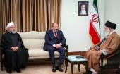 Rencontre du Premier ministre arménien avec le guide suprême de la révolution, l'Ayatollah Khamenei