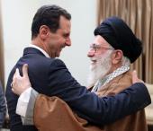Rencontre de Bachar Assad, le président de la république syrienne, avec le guide suprême de la révolution, l'Ayatollah Khamenei