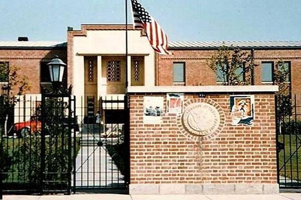 Conquête de l`ambassade américaine en Iran
