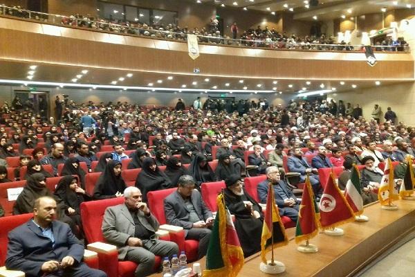 Quatrième congrès international des 'combattants à l'étranger' à Damghan.