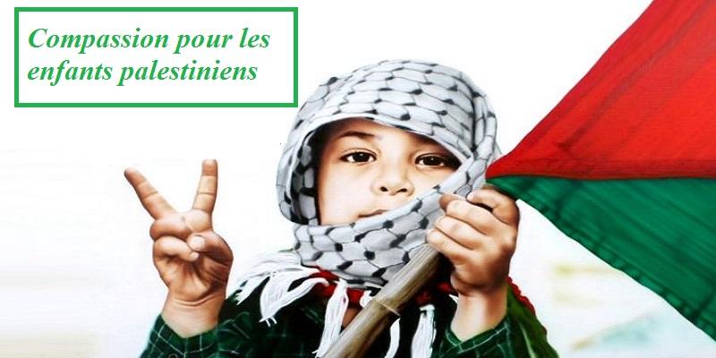 La journée de compassion pour les enfants palestiniens