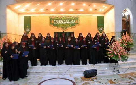 Célébration de la naissance de la dame Fatima Zahra (sa) dans la maison et le sanctuaire sacré de l'imam Khomeiny