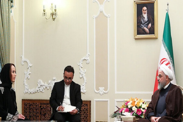 L'approche de l'Iran est l'apaisement des tensions et éviter les conflits (Rohani)