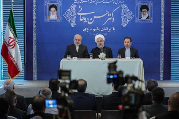 Malgré les sanctions, l'Iran a fait des progrès significatifs (Rohani)