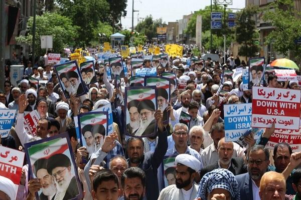 Iran: manifestation nationale en soutien aux décisions nucléaires du gouvernement