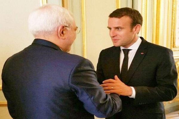 Zarif reconnait, constructive, sa rencontre avec Macron