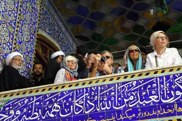Rituel de deuil d'Achoura : présence de 200 touristes étrangers à Yazd