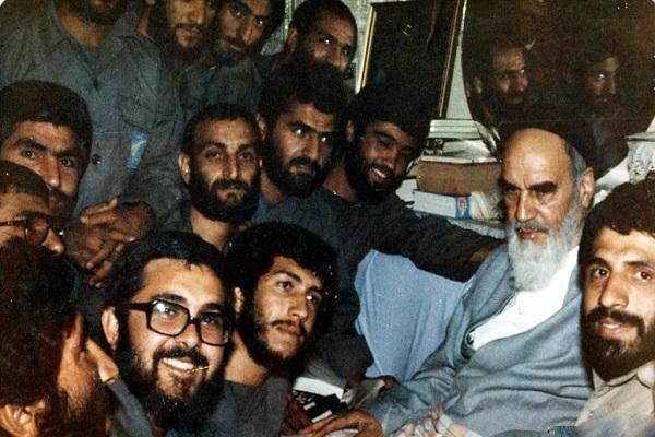 la tristesse de l'Imam Khomeiny