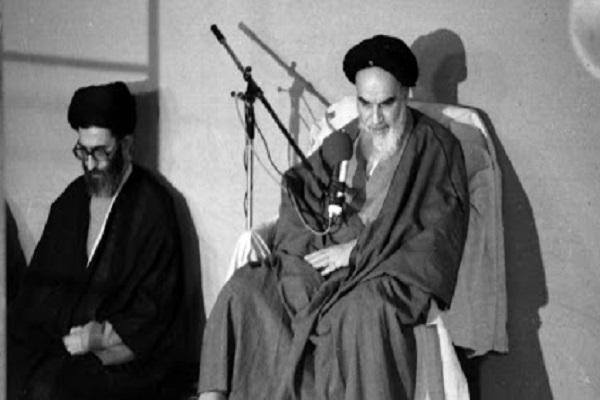Dernière visite de l`ayatollah Khamenei rendue à l`Imam Khomeiny