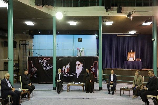 Rencontre des donateurs d'infrastructures scolaires avec Sayyd Hassan Khomeini