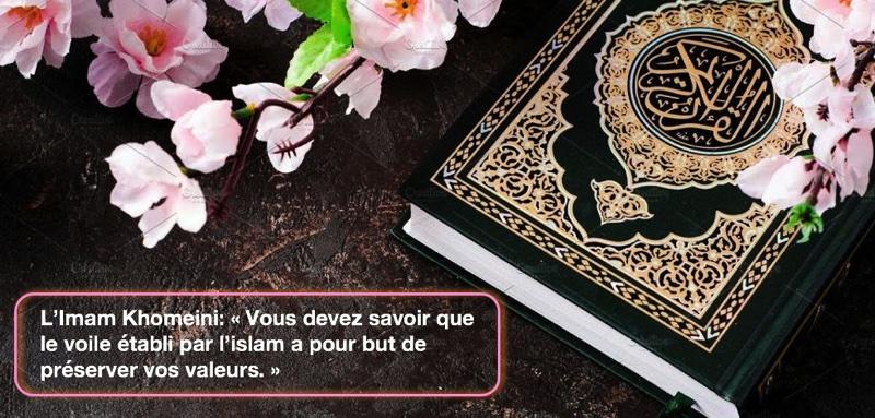 « Vous devez savoir que le voile établi par l'islam a pour but de préserver vos valeurs. »