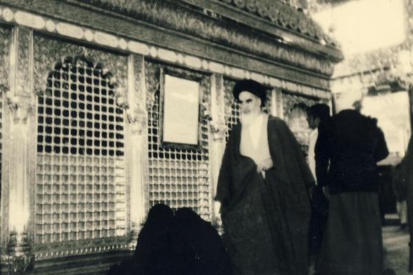 L'imam Khomeini et la visite de la tombe de l'Imam Hussein