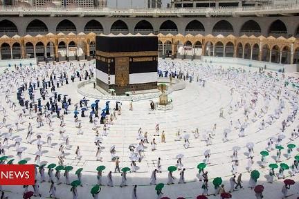 Hadj 2020 : le grand pèlerinage a commencé avec un millier de pèlerins
