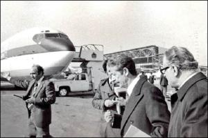 Deuxième partie de l'histoire du retour de l'Imam Khomeini en Iran