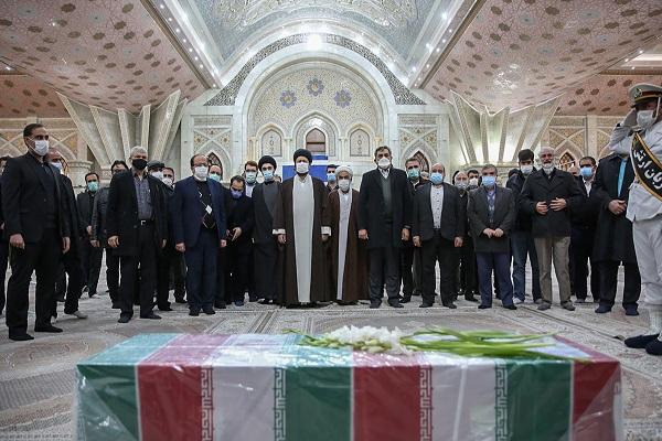 Le dernier hommage au martyr Fakhrizadeh