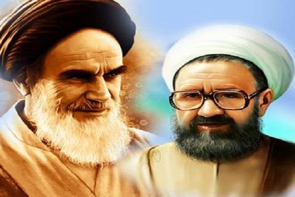 Quel était l'état de l'Imam Khomeini dans la cérémonie des funérailles du martyr Motahhari?