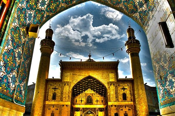 saint sanctuaire de l'imam Ali