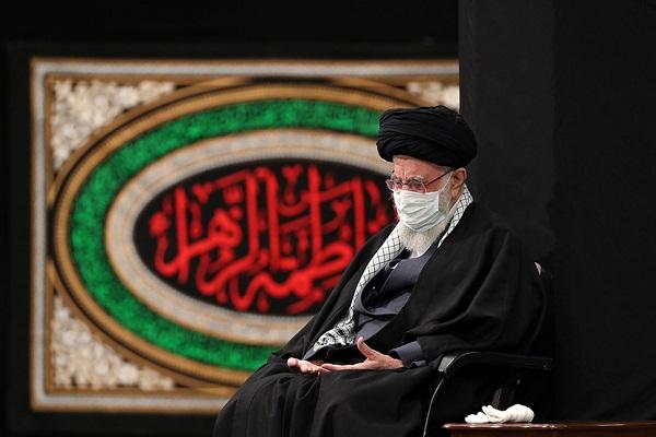 Cérémonie de deuil du martyre de Hazrat Fatimah