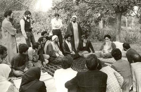 l'interdiction d'interview de l'imam Khomeini
