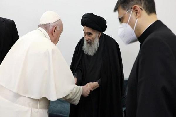 La déclaration du Centre pour le dialogue des religions sur la rencontre entre le Pape et l`ayatollah Sistani