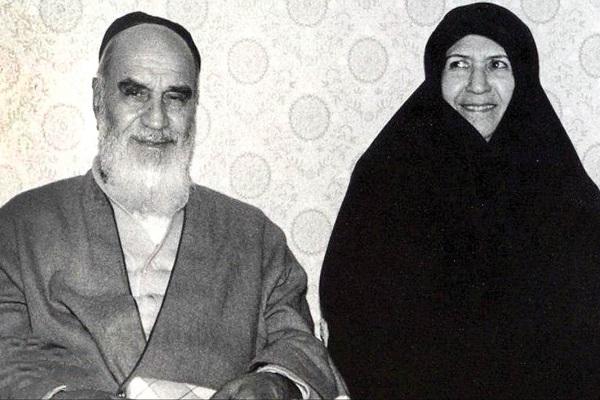 La lettre de l'imam Khomeini à son épouse pendant qu'ils étaient séparés l'un de l'autre.