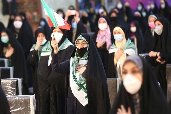 La cérémonie de la naissance de Hazrat Zahra au mausolée de l`imam Khomeini