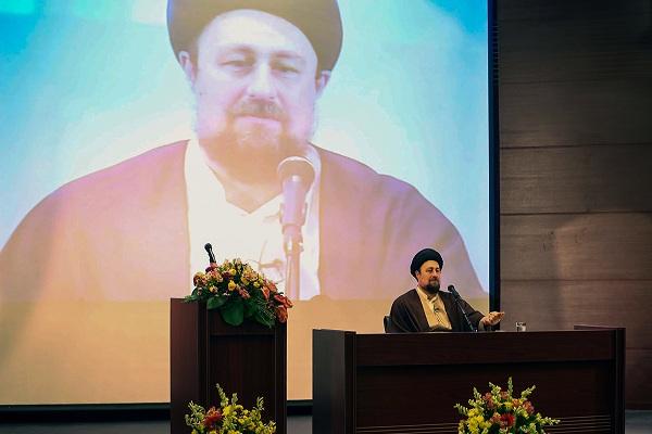 Rencontre des invités de la 35ème Conférence de l`Unité Islamique avec Seyyed Hassan Khomeini