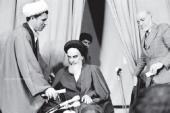 L`Imam Khomeini et l`Ayatollah Rafsandjani