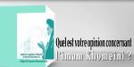Trente-deuxième anniversaire du décès de l`imam Khomeini: reportage vidéo; 01-Quel Est Votre Opinion Concernant L`imam Khomeini