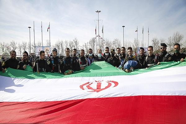 Cérémonie du 42em anniversaire de la victoire de la révolution islamique d`Iran