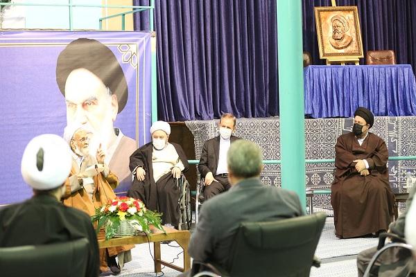 Cérémonie de dévoilement de l`encyclopédie complète de l`Imam Khomeiny