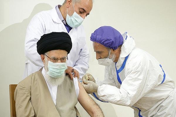 L`Ayatollah Khamenei a reçu la première dose de vaccin iranien