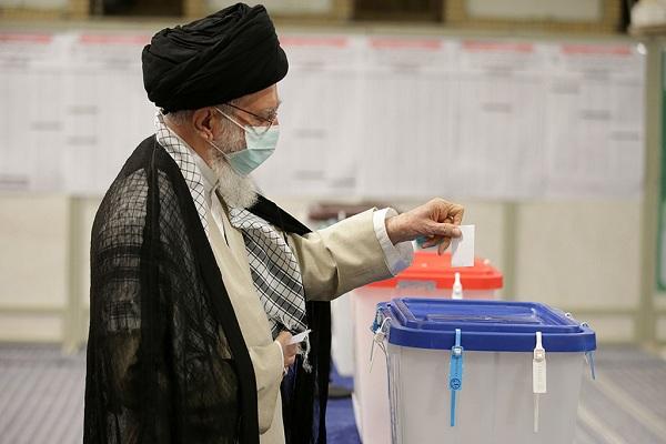 Présence du Guide suprême de la Révolution aux élections présidentielles iraniennes