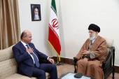 Nouveau président irakien en Iran