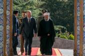 Président irakien en Iran
