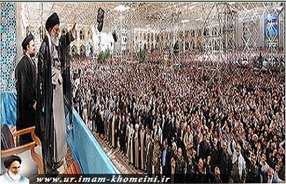 رہبر معظم کا امام خمینی (رہ) کی 25ویں برسی پر عوام سے خطاب