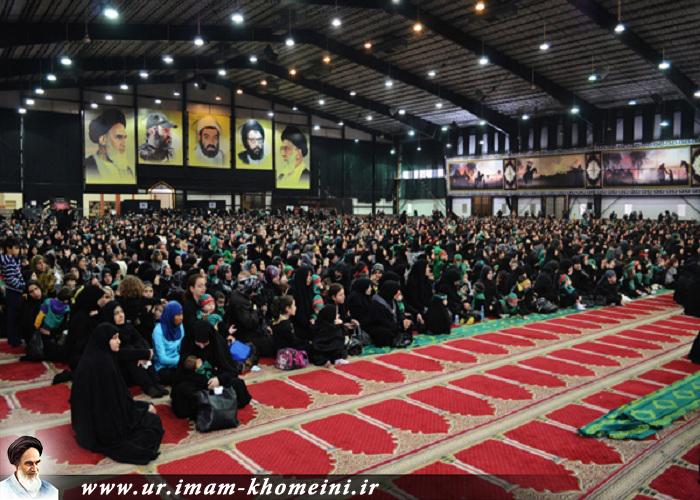 """کربلا کے ننهے مجاہد """"علی اصغر(ع)"""" کی یاد میں حسینی شیر خوار مجاہدوں کا اجتماع"""