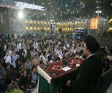 حضرت علی علیہ السلام کی مظلومیت تاریخ کے لئے ایک درس کی حیثیت رکهتی ہے: سید حسن خمینی