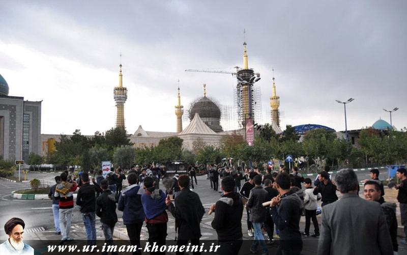 عاشورائے حسینی(ع)، ماتمی جلوس امام خمینی(رح) کے حرم میں 1436 هـ،ق