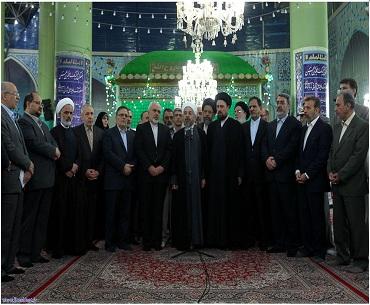 امام خمینی (رہ) ماڈرن اسلامی نظام پر مبنی حکومت کے بانی ہیں: صدر روحانی