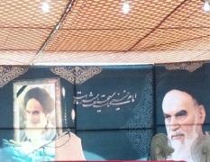 امام خمینی(رح) آرام و اطمینان سے مسائل بیان فرماتے تهے