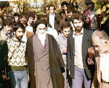 فرانس کے بعض جوانوں سے امام خمینی(رح) کی ایک ملاقات