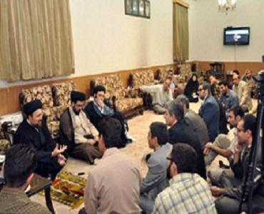 امام کو جیسے تهے ویسے ہی متعارف کروایں: سید حسن خمینی