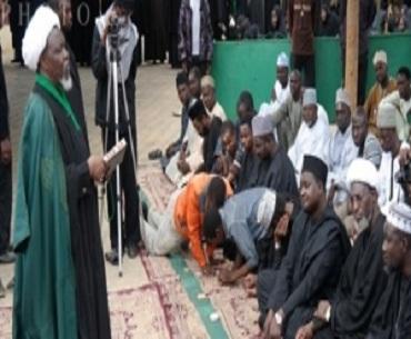 زاریا میں شیعوں نے 33 شہید کے زخم لئے عید منائی