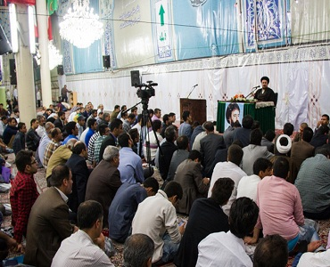 پیغمبر اعظم(ص) کا سب سے بڑا معجزہ حضرت علی(ع) ہیں: سید حسن خمینی