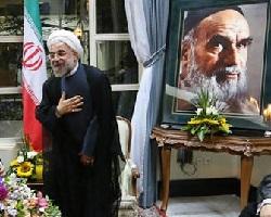 صدر روحانی جب پہلی بار امام خمینی(رہ) سے ملاقات کی