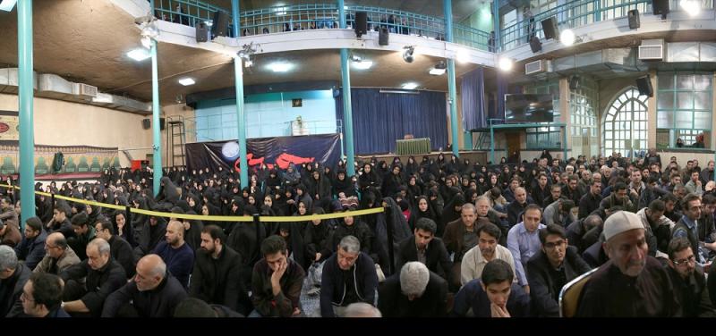تہران، تاسوعائے حسینی(ع) حسینیہ جماران میں