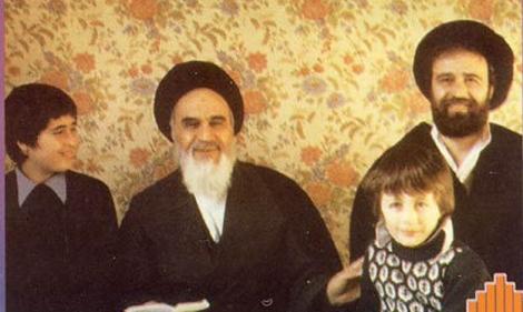 امام خمینی (ره) اپنے خاندان کے ساته